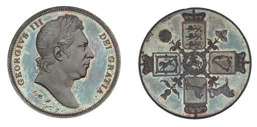 George III,  Pattern Crown, un