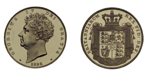 George IV (1820-1830), proof F