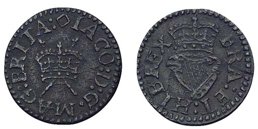 James I, Lennox Farthing, type