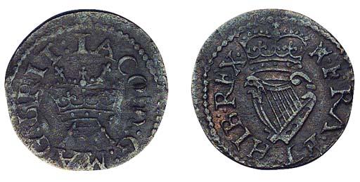 James I, Lennox Farthing, type