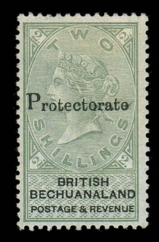unused  1888 (7 Aug.) 2/- gree