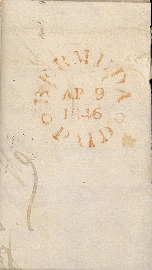 cover 1846 (9 Apr.) entire fro