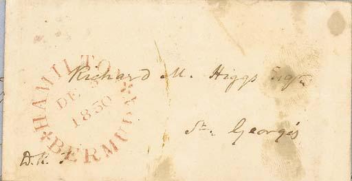 cover 1850 (5 Dec.) small enve