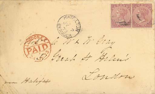 cover 1873 (2 July) envelope f