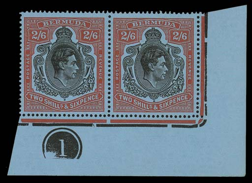 unmounted mint  2/6d. black an