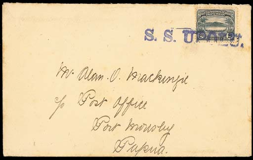 cover 1910 (Oct.) envelope to
