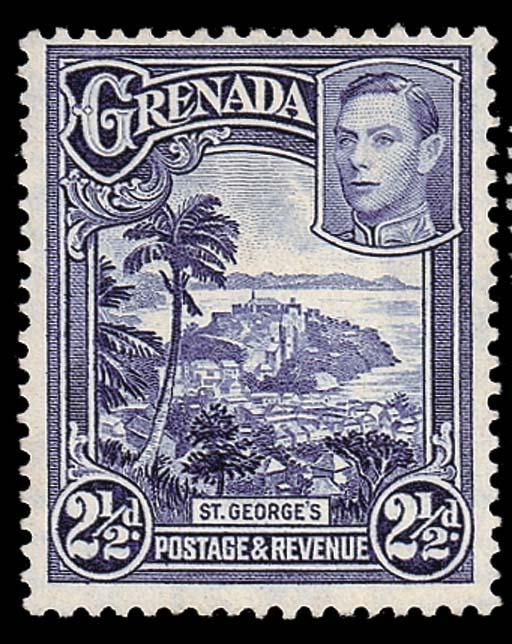 unused  1950 perf. 12½x13½ 2½d