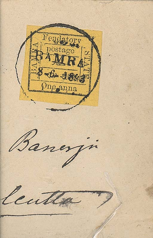 cover -- 1a. on bistre-yellow,