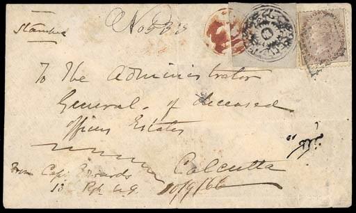 cover 1866 (4 Sept.) European