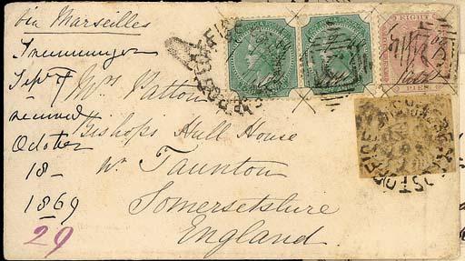 cover 1869 (7 Sept.) envelope