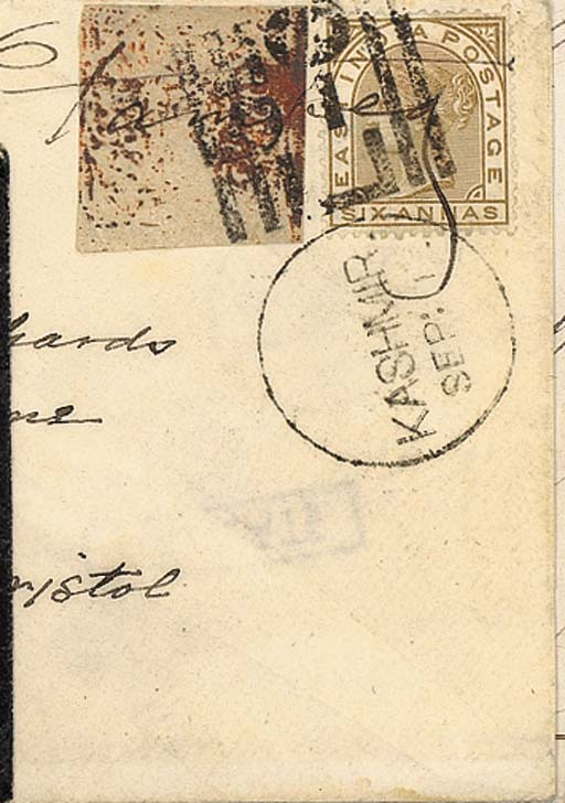 cover 1877 (1 Sept.) envelope