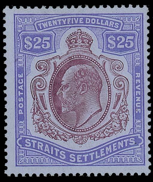 unused  1911 MCA $25 purple an