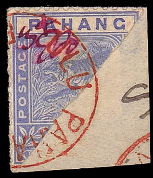 used  1897 (2 Aug.) 3c. on hal
