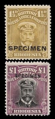 Specimen   1913-22 Admiral ½d.