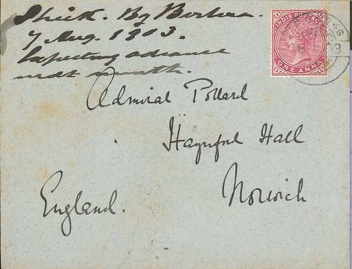 cover 1903 (28 July) envelope