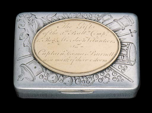 A Presentation Snuff Box to a