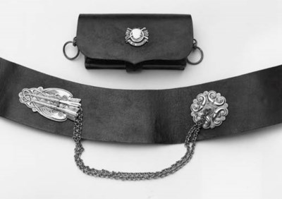 An Officer's Pouch and Shoulde