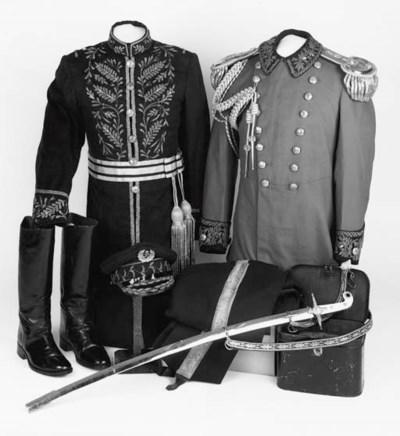 A Senior Officer's Uniform of