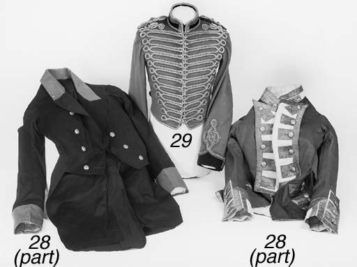 An Officer's Full Dress Jacket