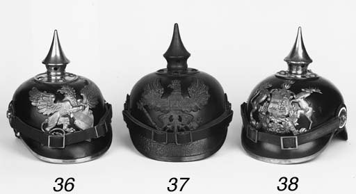 An Imperial German Pickelhaube