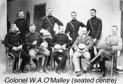 Pair: Colonel W.A. O'Malley, I