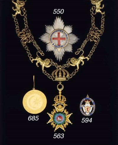 THE MOST NOBLE ORDER OF THE GA