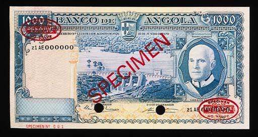Banco de Angola, specimen 500-