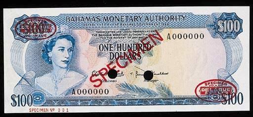 Bahamas, Monetary Authority, a