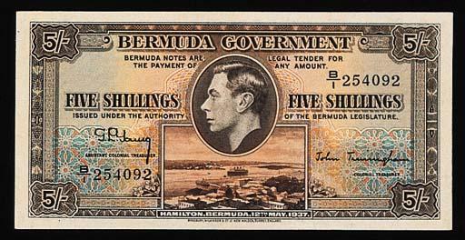 Bermuda, Government Issue, 5-S