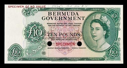 Bermuda, Government Issue, col