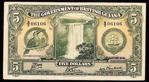 British Guiana, Government iss