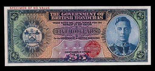British Honduras, Government I