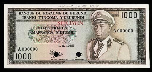 Banque du Royaume du Burundi,