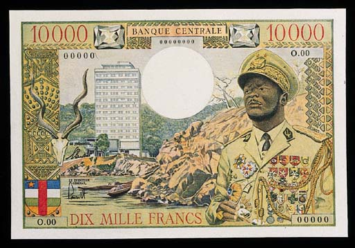 Central African States, Banque