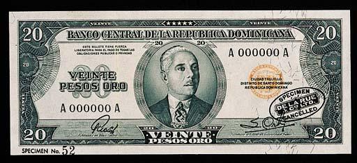 Dominica, Banco Central, speci