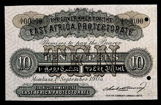 East Africa, Protectorate Issu