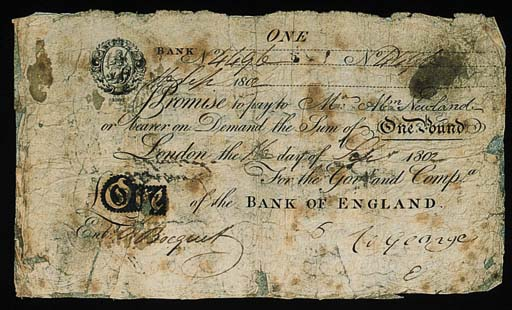 Bank of England, Abraham Newla