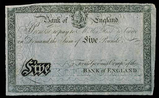Bank of England, Henry Hase tr