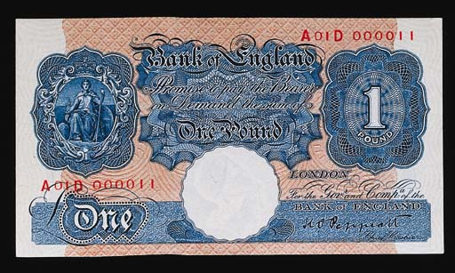 Bank of England, K O Peppiatt,