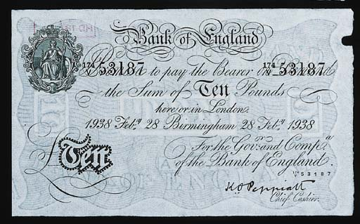 Bank of England, K O Peppiatt,