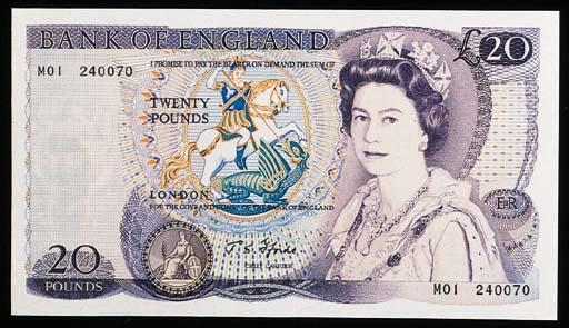 Bank of England, J S Fforde, £