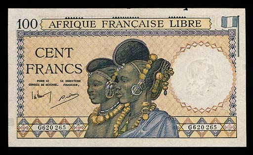 French Equatorial Africa, Afri