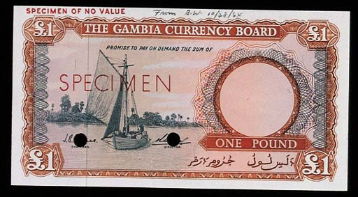 Gambia, Currency Board, a set