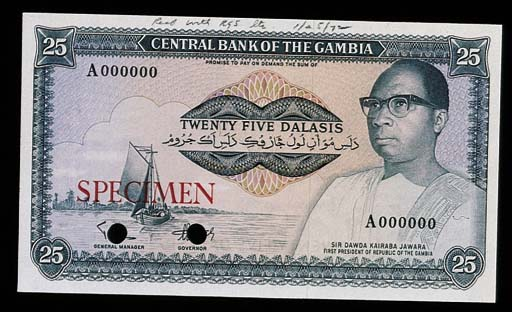 Gambia, Central Bank, a group