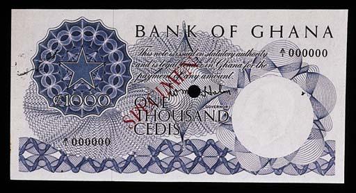 Bank of Ghana, a set of colour