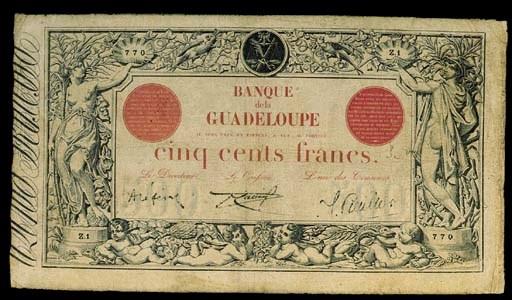 Banque de la Guadeloupe, 500-F