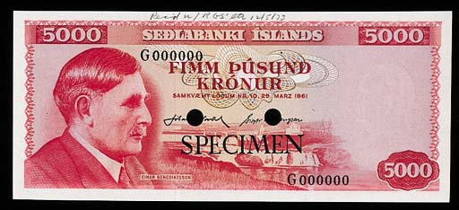 Iceland, Central Bank, a group