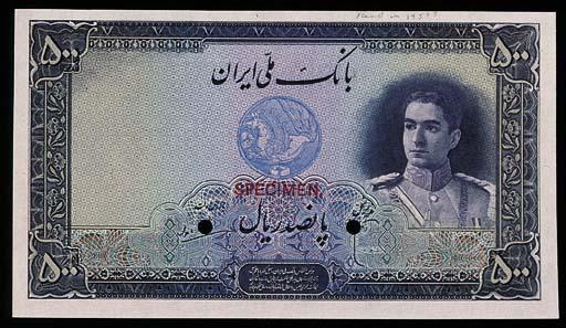 Iran, Bank Melli, a group of c