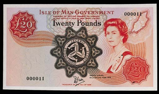 Isle of Man, Government Issue,