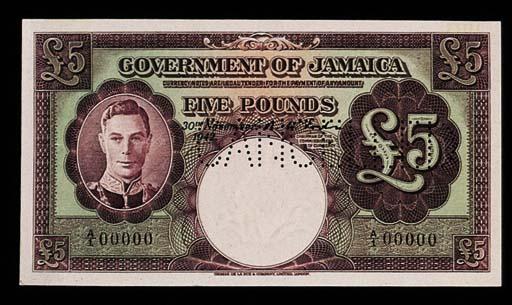 Jamaica, Government Issue, spe